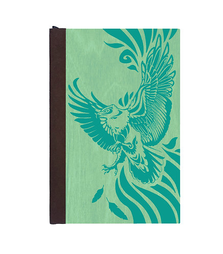 Step 3: Customize 6x9 Soaring Eagle Magnetic Journal
