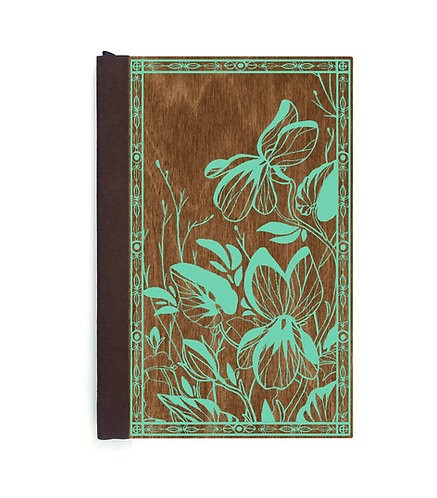 Step 3: Customize 6x9 Violet Fields Magnetic Journal