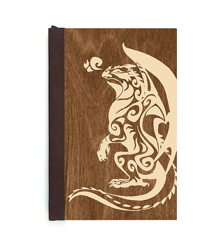 Step 3: Customize 6x9 Gazing Dragon Magnetic Journal