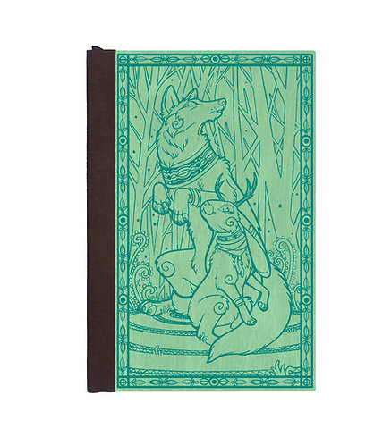 Step 3: Customize 4x6 Jackalope and Wolf Magnetic Journal