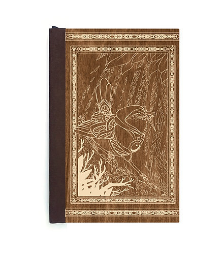 Step 3: Customize 6x9 Assassin Wren Magnetic Journal