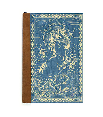 Step 3: Customize 4x6 Unicorn and Foal Magnetic Journal