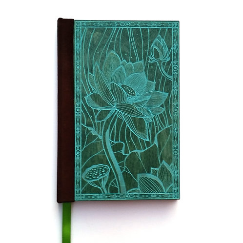 Step 3: Customize 4x6 Blooming Lotus Magnetic Journal
