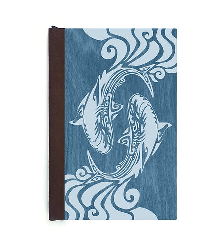 Step 3: Customize 4x6 Spiraling Sharks Magnetic Journal