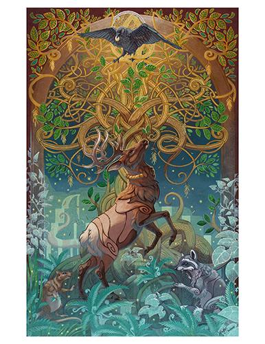 Yggdrasil Print