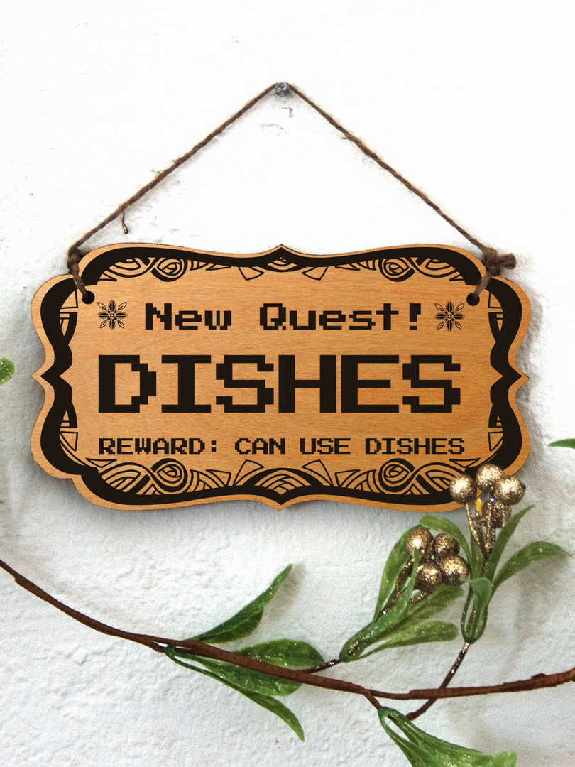 New Quest: Dishes