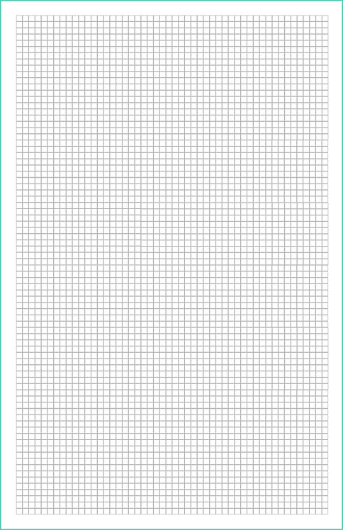 10x10 Grid Magnetic Journal Refill