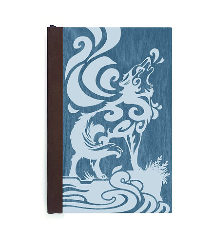 Step 3: Customize 4x6 Howling Wolf Magnetic Journal