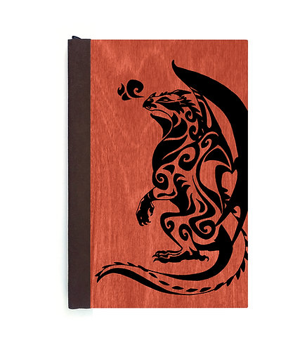 Step 3: Customize 4x6 Gazing Dragon Magnetic Journal