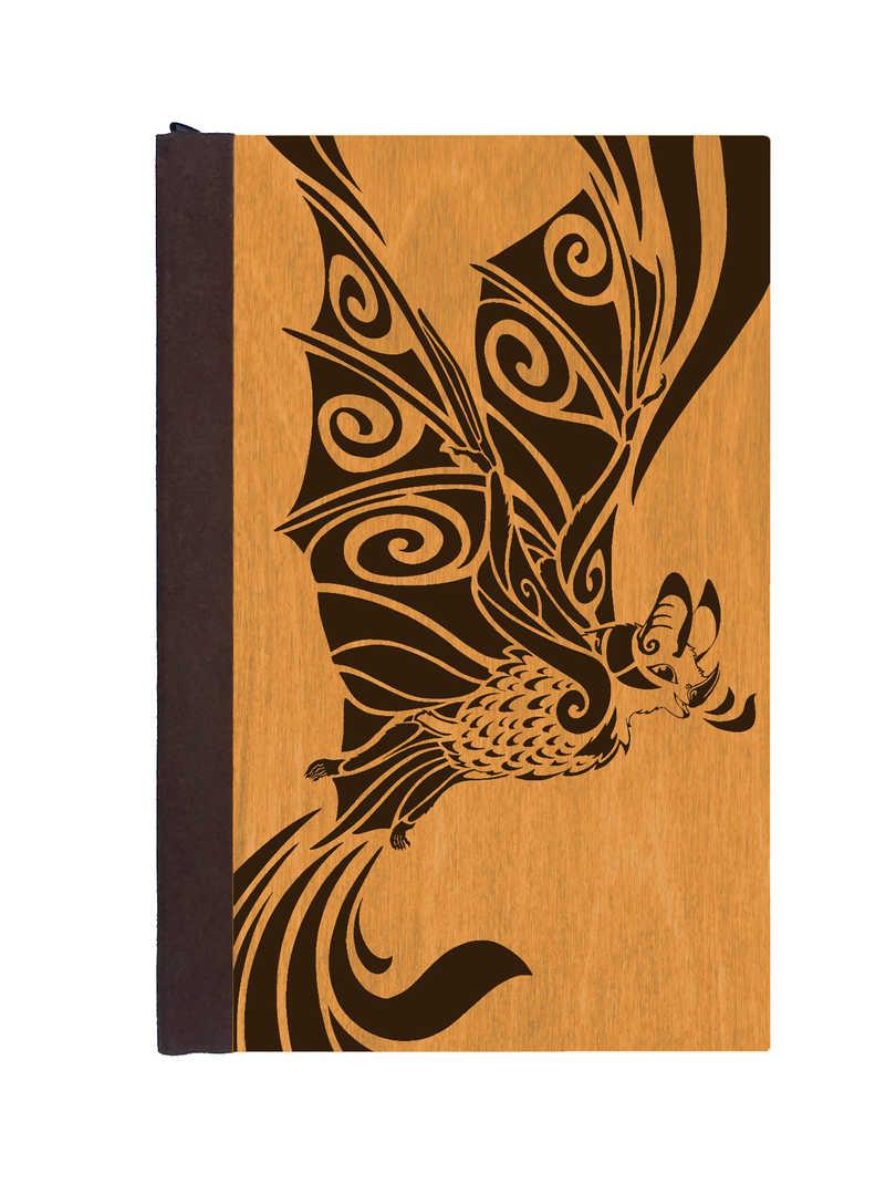 Cheerful Bat Journal