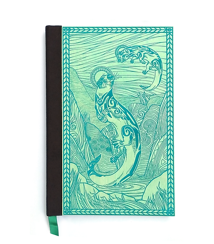 Step 3: Customize 6x9 Spiritual Otters Magnetic Journal