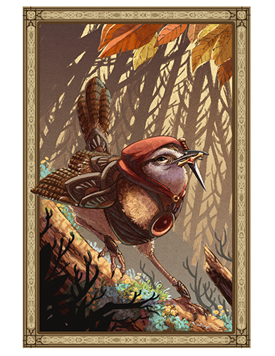 Assassin Wren Print