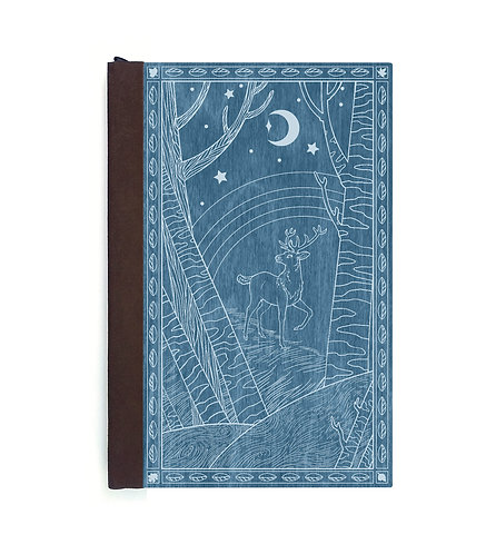 Step 3: Customize 6x9 Forest Prince Magnetic Journal
