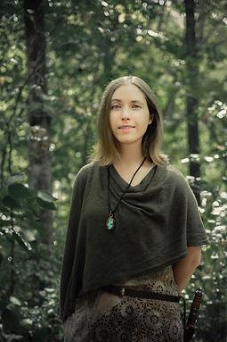 Karen in the forest.jpg