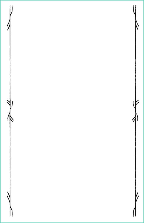 Runic Border Blank Refill 6x9