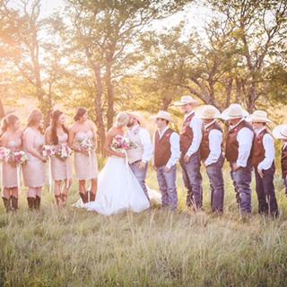 Wedding Party Trees