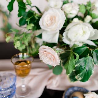 wedding bride and groom table