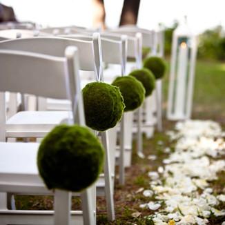 ceremony chair decor