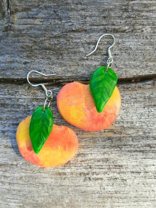 Peach Earings