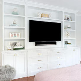 The Bedroom TV UNIT .