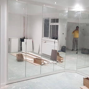 wardrobe  full mirror