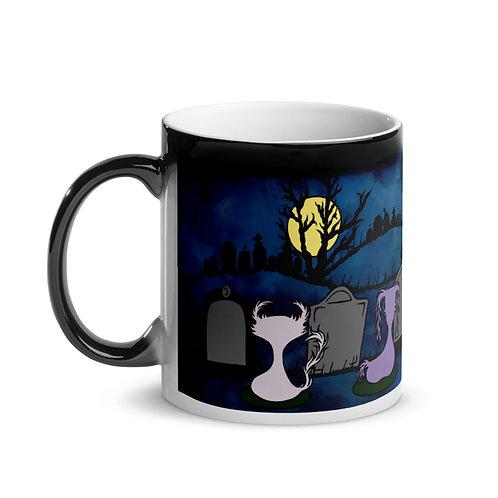 "Graveyard Scene - Doom & Gloom - ""Magic"" Mug"