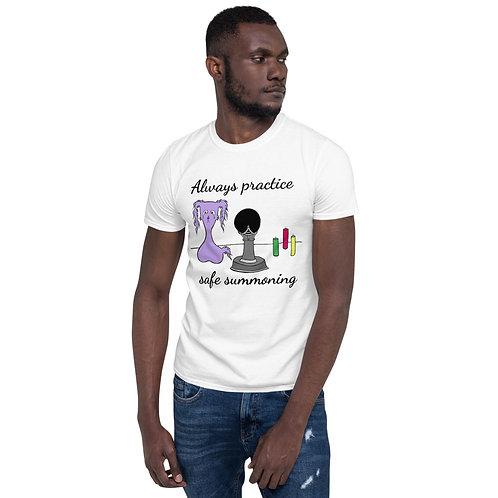 """Always practice safe summoning"" Gloom Character - Short-Sleeve Unisex T-Shirt"