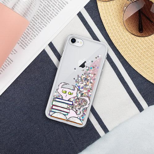 Doom w/ Books - iPhone - Liquid Glitter Phone Case