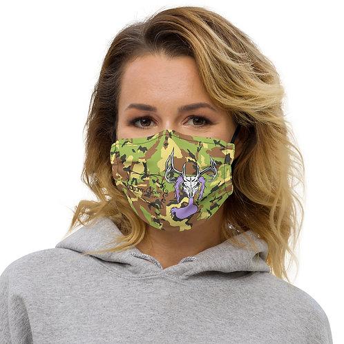 Deer Skull Gloom - 2 Layer W/ Pocket for Filter Reusable Cloth Face mask