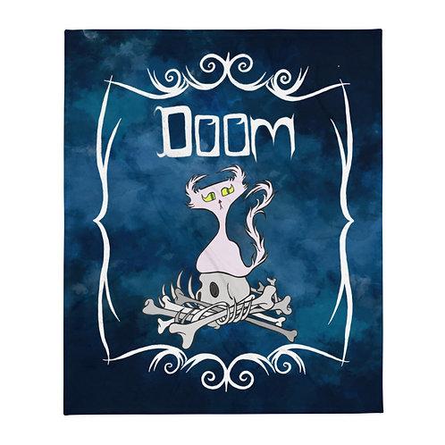Pile of Bones Doom Character - Throw Blanket