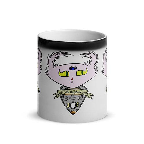 "Ouija Planchette Doom Pattern -  ""Magic"" Mug"