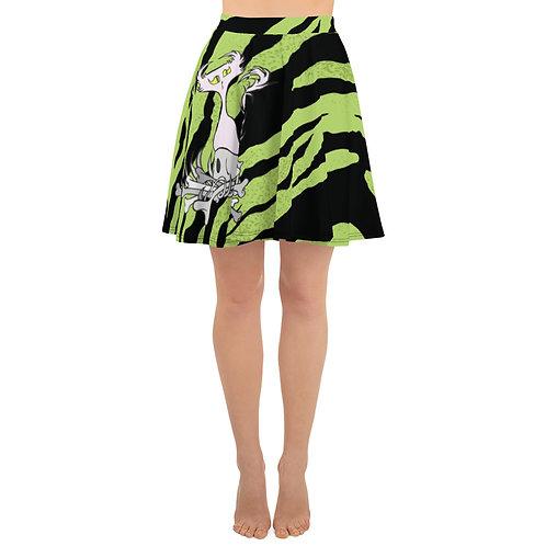 (Green Tiger Stripes) Bone Pile Doom - Skirt