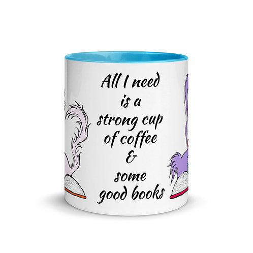 Doom & Gloom w/ Books Official Characters - Ceramic Mug