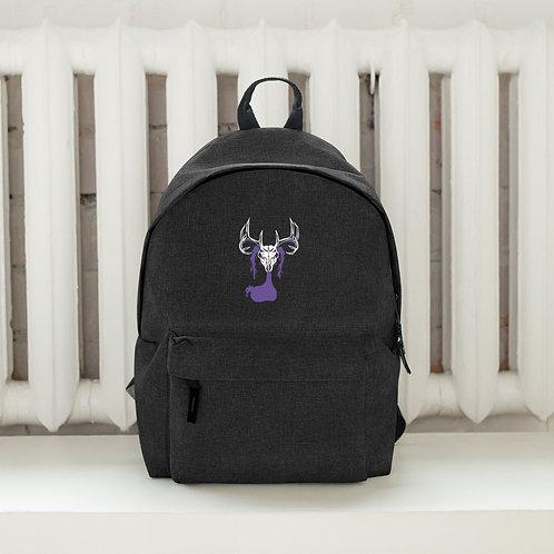 Deer Skull Gloom - Embroidered Backpack