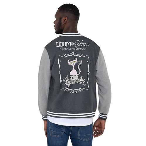 Bone Pile Doom - Men's Letterman Jacket
