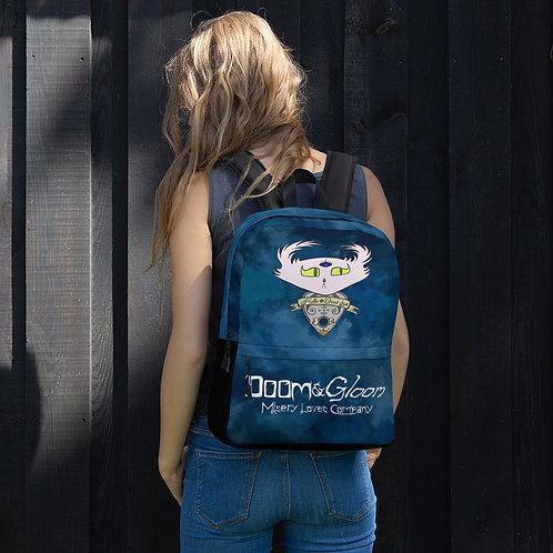 Ouija Planchette Doom - Premium Backpack