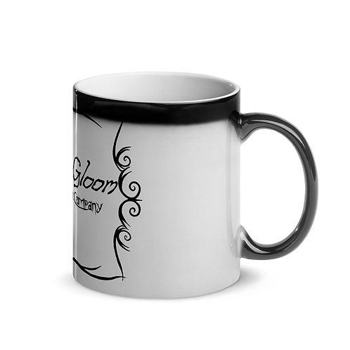 Black Font - Doom & Gloom Misery Loves Company Official Logo - Magic Mug