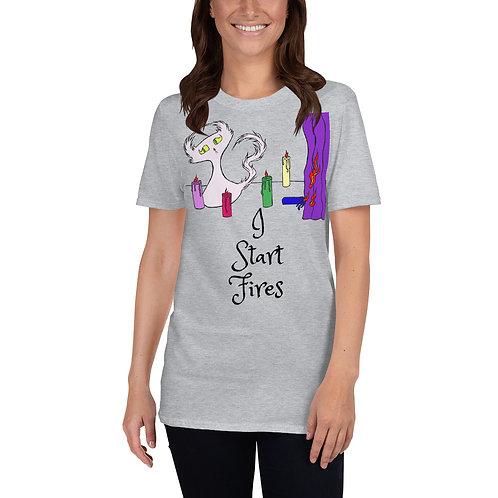 """Doom """"I Start Fires"""" - Short-Sleeve Unisex T-Shirt"""