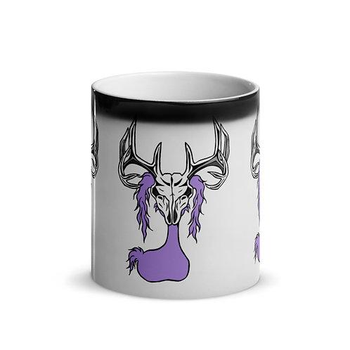 "Deer Skull Gloom Pattern - ""Magic"" Mug"