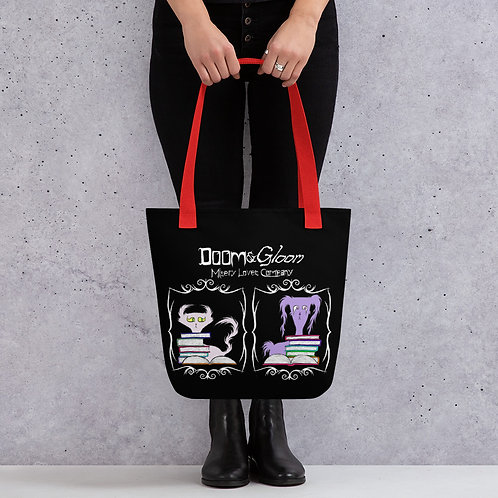 "Large Doom & Gloom ""Book"" Bag"