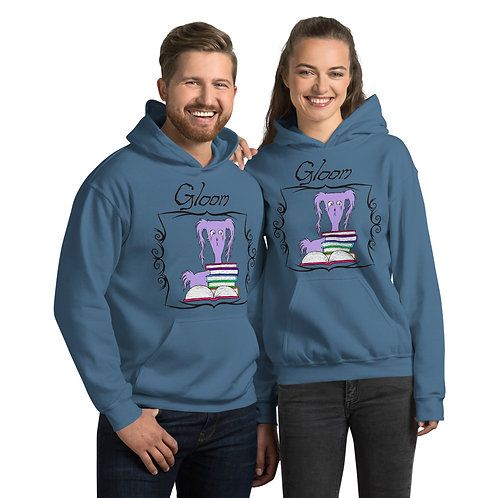Book Worm Gloom Official Character Unisex Hoodie