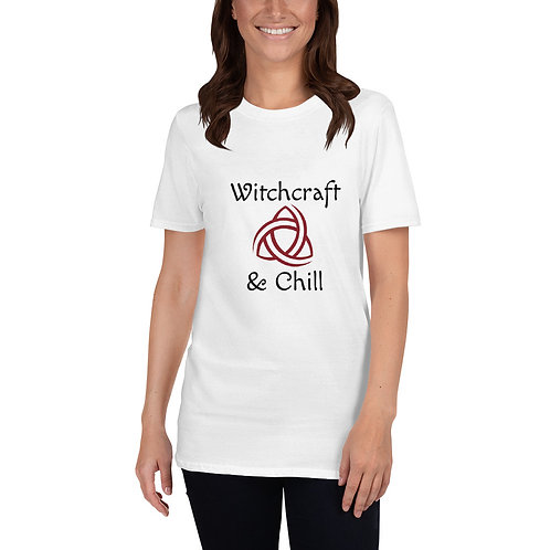 """""""Witchcraft & Chill"""" Triquetra - Short-Sleeve Unisex T-Shirt"""