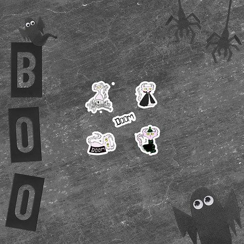 Doom Sticker Sheet