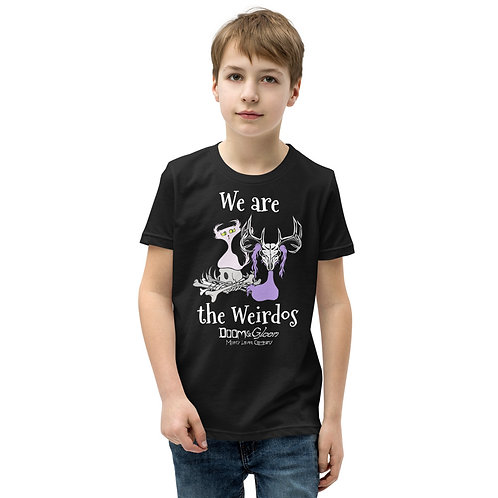 """""""We are the Weirdos"""" Youth Short Sleeve T-Shirt"""