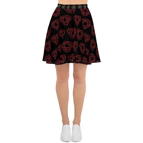 Triquetras & Pentragrams - Skirt