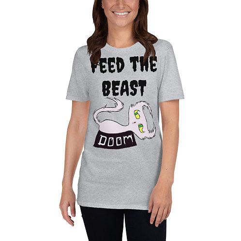 "Doom ""Feed the BEAST"" - Short-Sleeve Unisex T-Shirt"