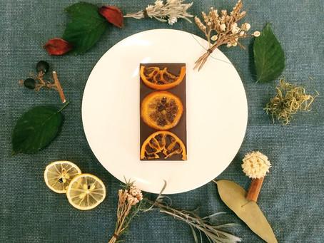 バレンタイン限定オレンジチョコレート販売開始!