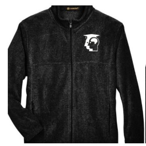 Black Full Zip Soft Fleece