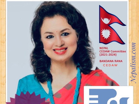 Nepal's Trailblazer Ms. Bandana Rana Re-elected to the UN CEDAW, Highest ranking Nepali woman
