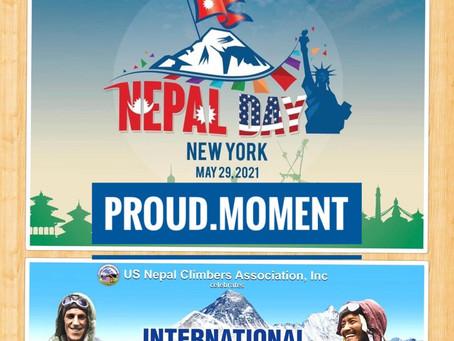न्यू योर्कमा 'नेपाल डे' र 'एभरेष्ट डे' मे २९ तारिख दुई दिवसकारूपमा भव्यतापूर्वक सम्पन्न